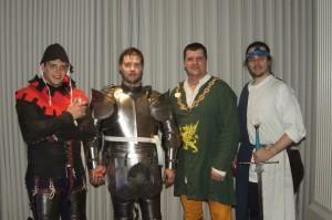 Sirs Nathan, James, Brian and Edward