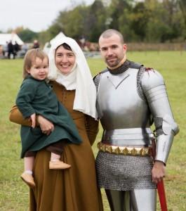 Sir Ian and family